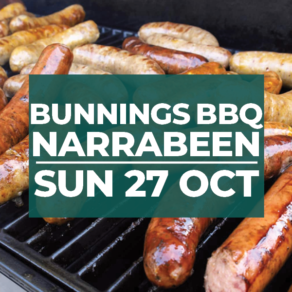 Bunnings BBQ – 27 October – Volunteers Needed