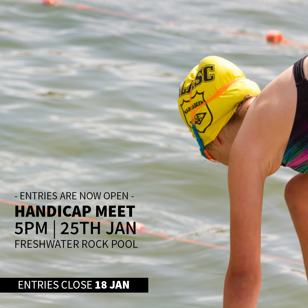 Handicap Carnival – 25 Jan @5pm – Freshie